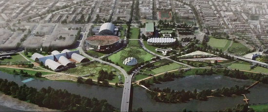 A Market Hall, a Memorial and Multi-Purpose Fields: The Short-Term RFK Stadium Replacement: Figure 12