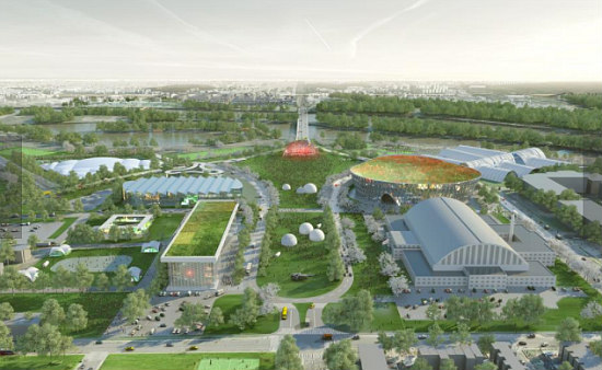 A Market Hall, a Memorial and Multi-Purpose Fields: The Short-Term RFK Stadium Replacement: Figure 11