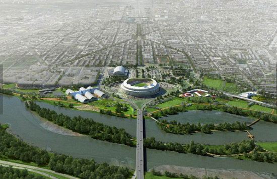 A Market Hall, a Memorial and Multi-Purpose Fields: The Short-Term RFK Stadium Replacement: Figure 1