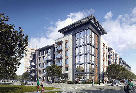 252 Apartments Proposed For Crystal City's Crystal Houses: Figure 1
