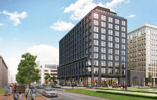 Forest City Unveils Design For 225-Room Hotel at the Yards: Figure 1