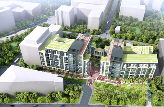 688 Units, An Arts Walk, A Public Park: The Proposals for One of DC's Central Parcels: Figure 2