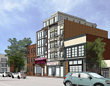 More Refined Renderings Revealed for Proposed Barrel House Apartments