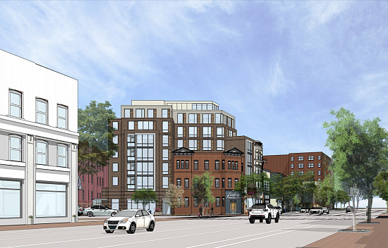 More Refined Renderings Revealed for Proposed Barrel House Apartments: Figure 5