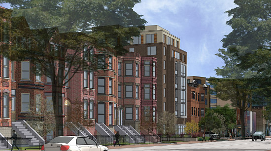 More Refined Renderings Revealed for Proposed Barrel House Apartments: Figure 7