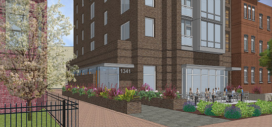 More Refined Renderings Revealed for Proposed Barrel House Apartments: Figure 1