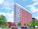 104 Affordable Units Atop Retail: The Plans For a Central DC Triangle