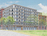 330 Apartments Over Retail Proposed Adjacent to Planned Eckington Park