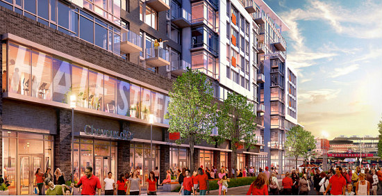Bowling Alley Proposed For Half Street Development Adjacent to Nats Park: Figure 1