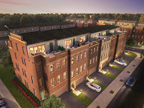 Now Selling: 4-Story Luxury Townhomes with a View at The Berkshire Collection