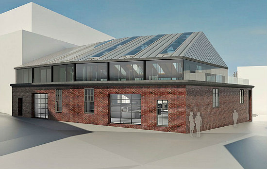 Rendering Of The Converted Garage