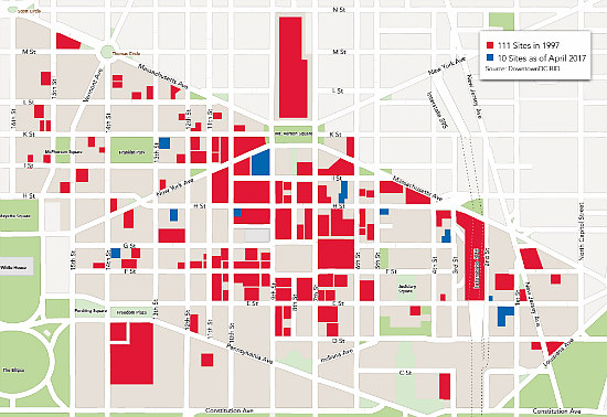 $643 a Square Foot: A Look at Downtown DC's Numbers: Figure 1