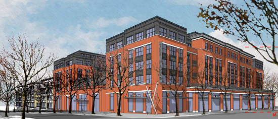 A Slightly New Look for the Residences Planned at Walter Reed: Figure 1