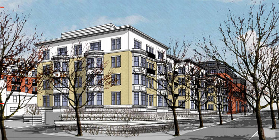 A Slightly New Look for the Residences Planned at Walter Reed: Figure 5