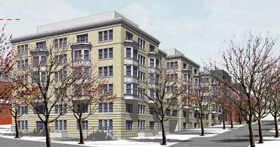 A Slightly New Look for the Residences Planned at Walter Reed: Figure 6