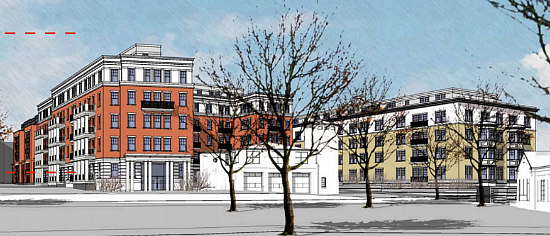 A Slightly New Look for the Residences Planned at Walter Reed: Figure 7
