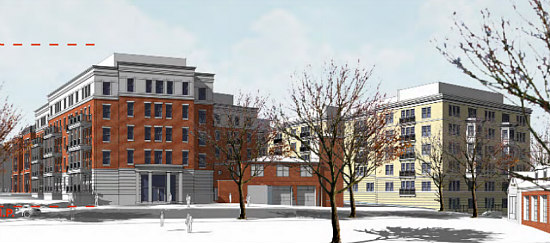 A Slightly New Look for the Residences Planned at Walter Reed: Figure 8