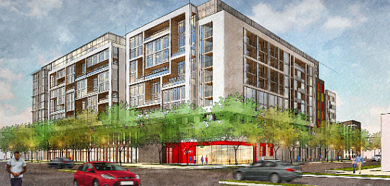 1,000 Apartments, A Charter School, Athletic Space Galore: The 8 Proposals for Northwest One: Figure 11