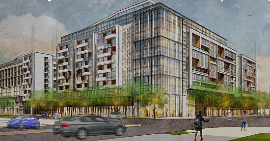 1,000 Apartments, A Charter School, Athletic Space Galore: The 8 Proposals for Northwest One: Figure 10