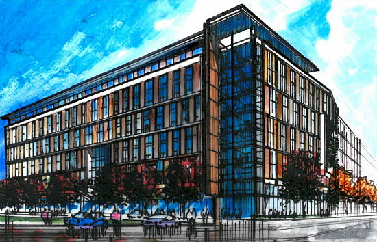 1,000 Apartments, A Charter School, Athletic Space Galore: The 8 Proposals for Northwest One: Figure 9