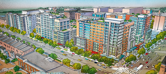 1,000 Apartments, A Charter School, Athletic Space Galore: The 8 Proposals for Northwest One: Figure 7