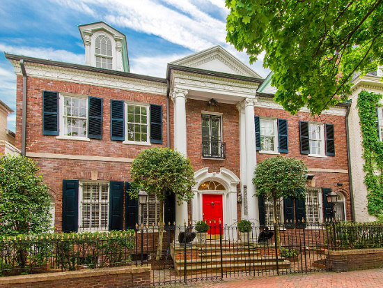 $14 Million Georgetown Mansion Becomes DC's Second Priciest Home For Sale: Figure 1