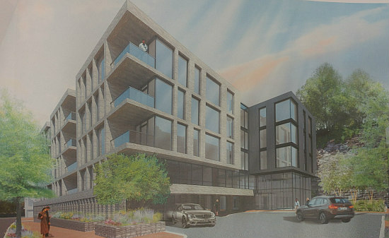 21 Spacious Units at Key Bridge: The New Plans for the Georgetown Exxon Site: Figure 7