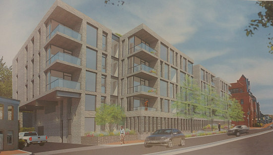21 Spacious Units at Key Bridge: The New Plans for the Georgetown Exxon Site: Figure 5