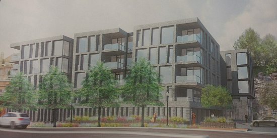 21 Spacious Units at Key Bridge: The New Plans for the Georgetown Exxon Site: Figure 1