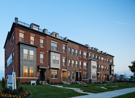At Travilah Station, Huge Townhomes Come with Available Roof Terraces & Elevators: Figure 1