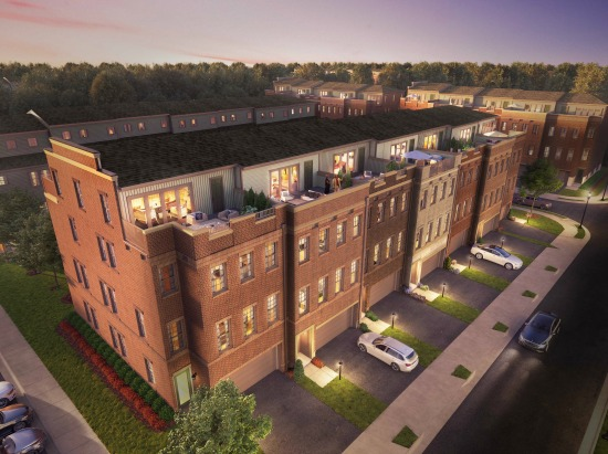 Now Selling: 4-Story Luxury Townhomes with a View at The Berkshire Collection: Figure 1
