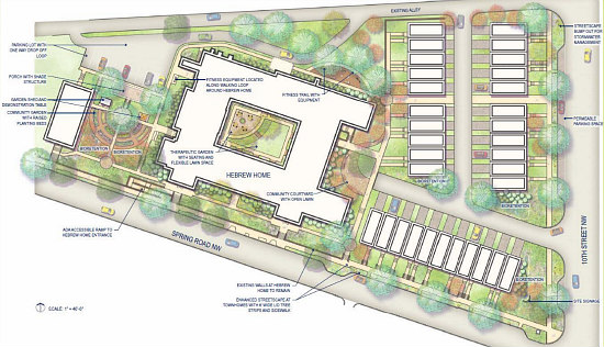 Affordable Senior Housing, Townhouses and Condos: The 7 Proposals for DC's Hebrew Home: Figure 8