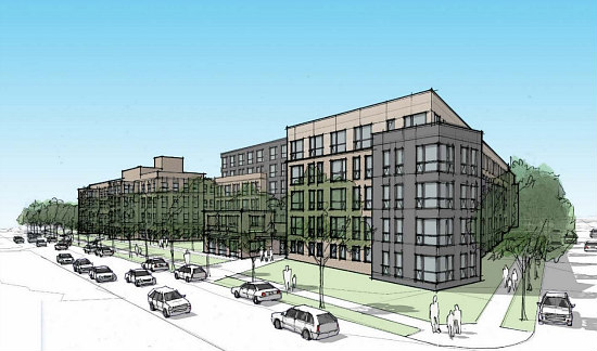 Affordable Senior Housing, Townhouses and Condos: The 7 Proposals for DC's Hebrew Home: Figure 6
