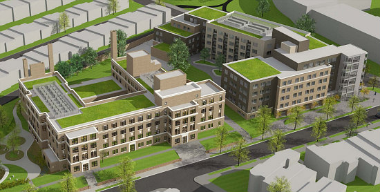 Affordable Senior Housing, Townhouses and Condos: The 7 Proposals for DC's Hebrew Home: Figure 12