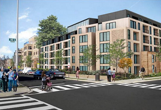 Affordable Senior Housing, Townhouses and Condos: The 7 Proposals for DC's Hebrew Home: Figure 14