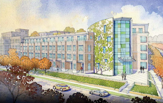Affordable Senior Housing, Townhouses and Condos: The 7 Proposals for DC's Hebrew Home: Figure 2