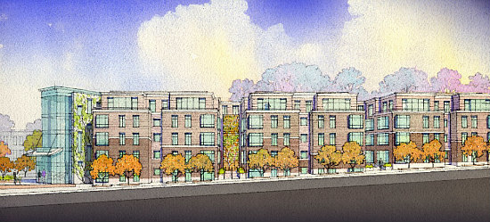 Affordable Senior Housing, Townhouses and Condos: The 7 Proposals for DC's Hebrew Home: Figure 3
