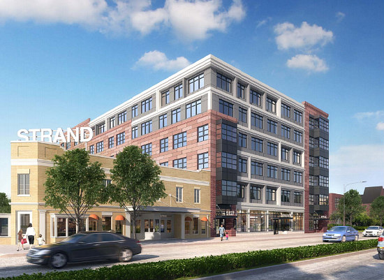 86 Affordable Apartments Planned Adjacent to DC's Strand Theater: Figure 1