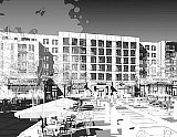 300 Apartments Atop A Grocery Store: The Preliminary Plans for Walter Reed's Town Center