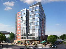 76 Apartments Plus Commercial Space Proposed Near DC's New Soccer Stadium