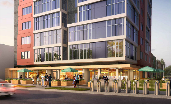 76 Apartments Plus Commercial Space Proposed Near DC's New Soccer Stadium: Figure 2