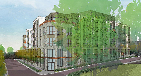 Jair Lynch Plans 114 Apartments for Historic Takoma: Figure 1