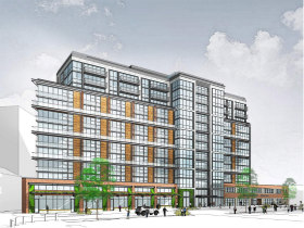 325 Apartments Atop Retail Proposed for Maurice Electric Building at Union Market