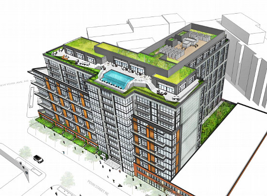 325 Apartments Atop Retail Proposed for Maurice Electric Building at Union Market: Figure 2