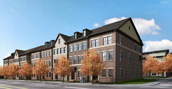 Another SunTrust Redevelopment: 27 Townhouses Planned For Bank Site  in Arlington: Figure 1