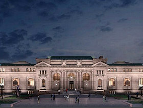 Flagship Apple Store for Carnegie Library Receives Key Approval