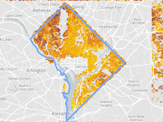 Which DC Neighborhoods Have the Most Solar Potential?: Figure 2