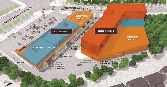 Zoning Change Would Make Way for a Mixed-Use Project at Penn Branch Shopping Center: Figure 3