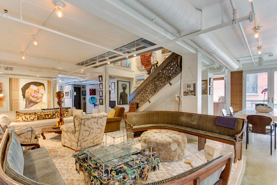Peggy Cooper Cafritz Lists Art-Filled Dupont Circle Duplex: Figure 1
