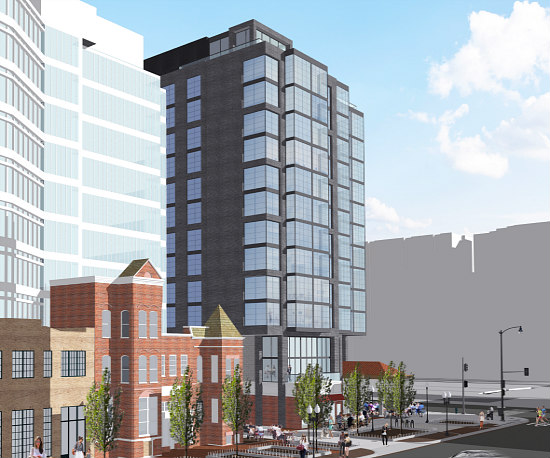 No Room at the Inn for Gas Station: A New Design for Douglas Development's  6th and K Hotel: Figure 3